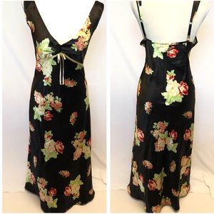 Maxi dress large floral jones New York